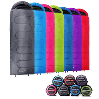 KingCamp Ultralight Sleeping Bag Cotton Lazy Bag All Season Outdoor Camping Equipment Sleeping Bag 220 X75cm