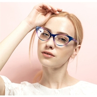 Zuan meiอ่านแว่นตากรอบผู้หญิงยี่ห้อธรรมดากระจกตาแว่นตาo ptical s pectacleแว่นตาแมวตายูวีแว่นตาzm5837