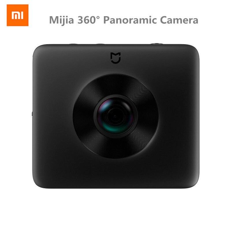 Оригинал Xiao mi jia 360 Panora Cam 23.88MP сенсор 3,5 К Запись видео 6 Axis Anti shake английское приложение mi Sphere VR Cam