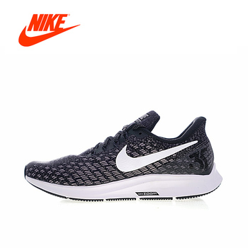 Original New Arrival Authentic NIKE ZOOM PEGASUS 35 Mens Running Shoes Sneakers Breathable Sport Outdoor Good Quality 942851-001