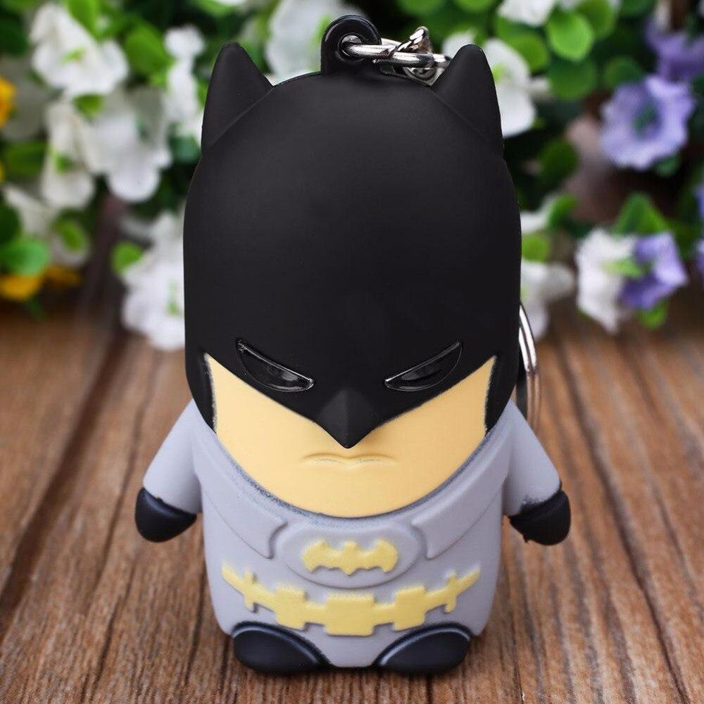 Batman <font><b>Led</b></font> <font><b>Light</b></font> <font><b>Key</b></font> <font><b>Chain</b></font> W/<font><b>Sound</b></font> Toys Idea Gifts For Friends Families