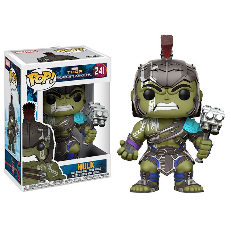 Funko pop Horror Movie: Thor 3: Ragnarok - Hulk Vinyl Figure Collectible Model Toy with Original Box