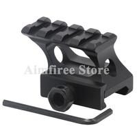 Tactical Flashlight Scope Rail Mount High Profile Riser Mount fits 20mm picatinny Weaver Rail For Red Dot Sight Hunting