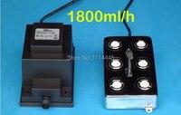 Yepyeni ultrasonik buğu yapıcı sisleyici 6 kafa nemlendirici + trafo 1800 ml/h|transformer transformer|fogger ultrasonicfogger mist maker -