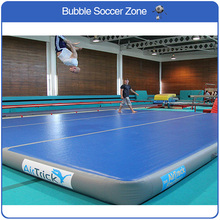 цены Free Shipping and Logo 4*4*0.2m Inflatable Tumble Track Trampoline Airtrack Gymnastic Ait Track Trampoline Air Track Gymnastics