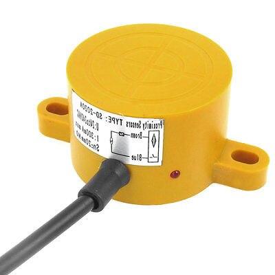 SD-2020A 20mm Detection Inductive Sensor Proximity Switch AC 24-240V 30mm capacitive proximity sensor switch nc 25mm detection distance ljc30a3 h j dz 2 wire ac90 250v mounting bracket