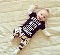 New Cartoon baby clothing set boys girls suits cotton long sleeve tshirts+ pants Infant bebe clothes sets toddler cloth set 2017