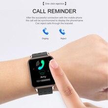 Greentiger New Y6 Pro Smart Bracelet Heart Rate Blood Pressure Oxygen Fitness Tracker Smart Watch Waterproof Sports Smart Band
