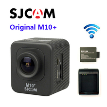 Envío Libre!! Original SJCAM M10 Plus WiFi 2 K Novatek 96660 GIROSCOPIO de Buceo 30 M Impermeable 1080 P 60FPS Acción Cámara conector conjunto