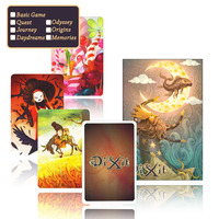 Dixit English Game Basic Query Journey Odsey Waterproof Plastic Protect Board Game Children Playing Cards