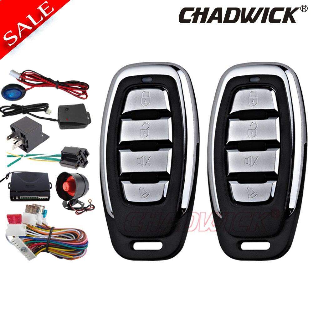 Kit Central universel à distance automatique serrure de porte système de verrouillage de véhicule sans clé système d'alarme de voiture pour toyota Lada CHADWICK 8152