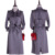 Moda Elegante de Couro da Camurça do Falso Casaco de Trincheira Longo Fino Mulheres Do Vintage Estilo Europeu Celebridade Outono Casacos Outerwear