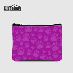 Dispalang женщина бумажник кошка лапой печати малых портмоне для детей Женские Кошельки Дизайн бренд мини леди кошельки сцепления держателя