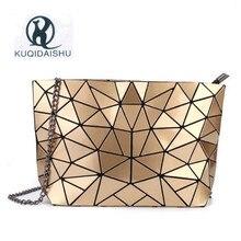 Women Bao Bag 2018 Summer Hot Sale Messenger Bags Fashion Hologram Mini Chain Beach Ladies Evening Clutch Purse Soft