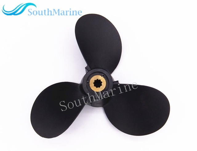 Boat Engine Propeller 7 1/2x8-BA for Yamaha 4HP 5HP 4A 5C F4A Outboard Motor 6E0-45941-01-00  7 1/2 x 8 - BA