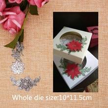 Flower Leaves Metal Cutting Dies for craft Scrapbooking Stamps DIY  Card 2019 New 10*11.5cm