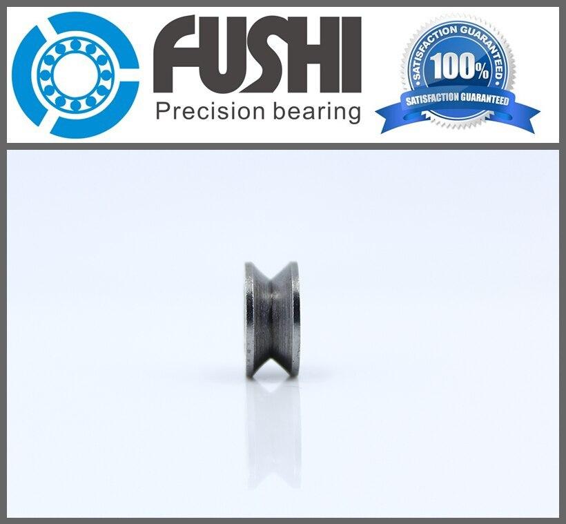 High Carbon Steel V623 (20 Pcs) V Groove Open Ball Bearings 623V Guide Track Roller Bearing V623 Embroidery Machine Bearing gcr15 6036 180x280x46mm high precision deep groove ball bearings abec 1 p0 1 pcs