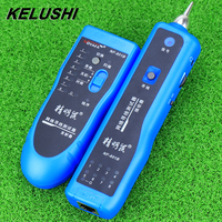 KELUSHI 2018 Network RJ11 RJ45 lan wire tracker Fault locator and cable tester LAN Cable Tester NF 801B