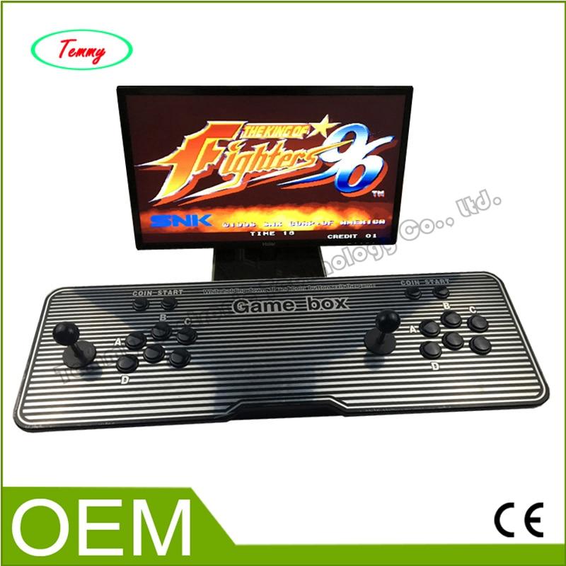 все цены на  New arrival Jamma multi games Household arcade video game machine console,multi game 680 in 1 Pandora Box 4s game machine  онлайн