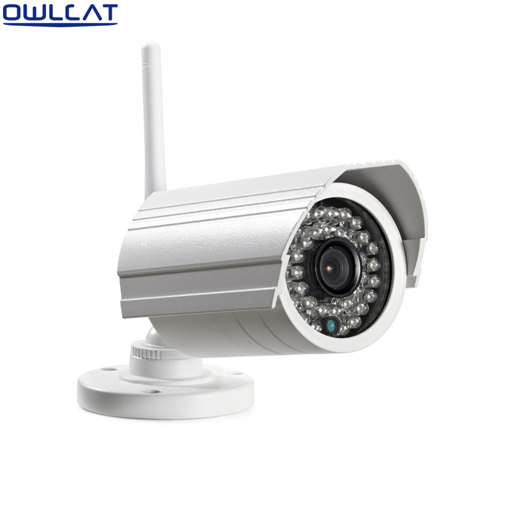 Onvif WIFI IP camera 2.0 Megapixel 1080p HD Outdoor Wireless IR SD Card Slot P2P CCTV Bullet Security Camera iPhone Android household bullet ir hd 1080p ip camera wifi p2p onvif waterproof camera support sd card
