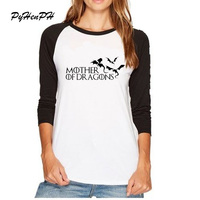 PyHenPH Brand Summer Game Of Thrones Design T Shirt Mother Of Dragon Cat Pug Printed Full