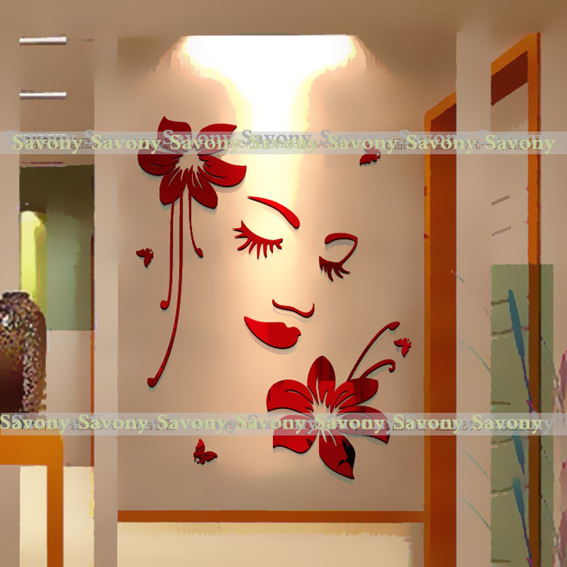 aliexpresscom buy sexy girl lip eyes wall stickers living bedroom decoration diy home decals mual art from reliable stickers yamaha suppliers on savony - Woman Home Decorating