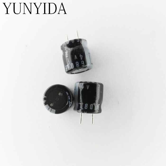 Aluminum Electrolytic Capacitor  4V   680UF   8*8mm   20PCS