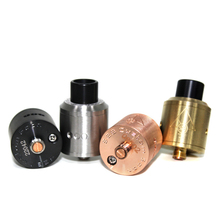100% Original 528 Custom Vapes Goon RDA 24mm Atomizer Tank Black Brass Copper Silver Electronic Cigarettes Vaporizer
