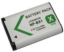 NP - BX1 digital camera battery