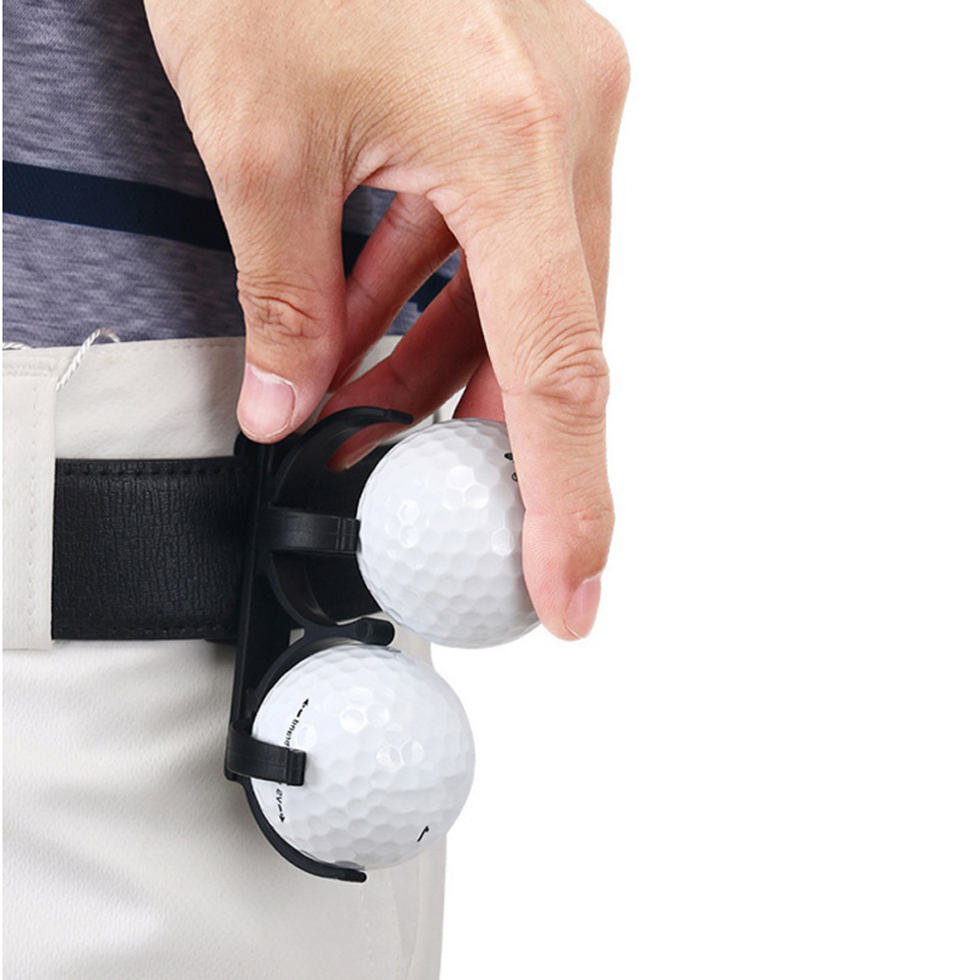 2pcs/set Golf clip Golf Ball Holder Clip Organizer for Golfer Sporting Training Tool Accessory GOG Brand New free shipping
