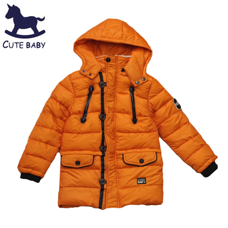 4174e2dee735 New 2015 Boys winter coat Children s Thick coat Windproof outerwear baby  boys clothing Warm jackets for boys kids 8 12Ages-in Down   Parkas from  Mother ...