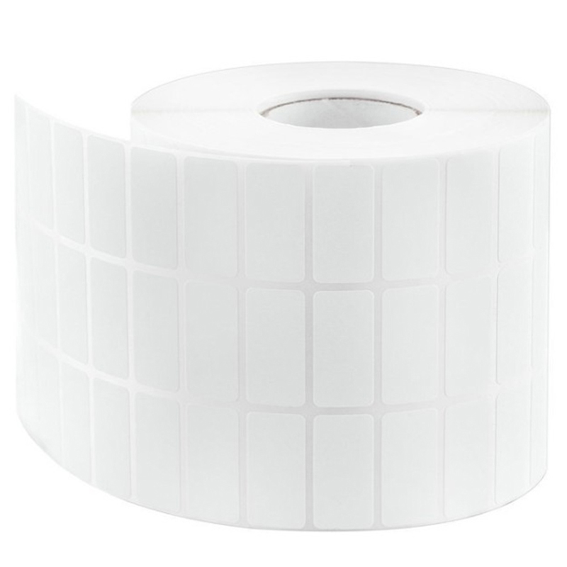 Blank Barcode Thermal Transfer Label 30mm X 10 Mm , Roll Of 20000 Sticker,Coated Paper Sticker,White Sticker Barcode Paper