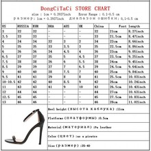 GUMANDUO new summer women high heels sandals shoes woman party wedding ladies pumps ankle strap buckle stilettos sexy shoes