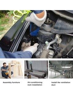 Image 4 - 12 v リチウム電池充電式電動レンチポータブルラレンチ 90 度電源ツールレンチ prostormer による急速充電器