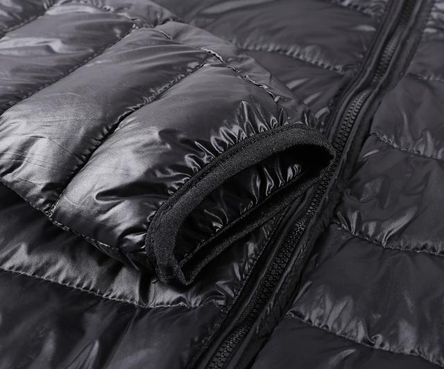 Hooded Winter Duck Down Jacket