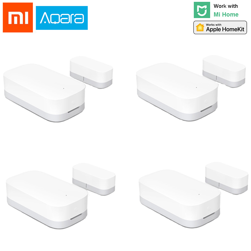 Original Xiaomi Aqara Door Window Sensor Smart Home Xiaomi Zigbee Function Remote Control Alarm Door Sensor Security Door Window
