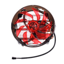 Brand New Powerful 3 Copper Tubes 12cm CPU Cooling Fan for Intel Universal