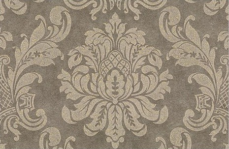 European Damask Wallpaper Grey For TV Background Classic Wall Paper Home Decor Non Woven Living Room In Wallpapers From Improvement