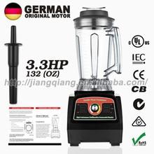 Libre de bpa G7400 3.3HP 2800-Watt profesional máquina de afeitar del hielo alta velocidad exprimidor lenta System negro 3.9L 57000-peak