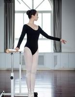 Free Shipping Adult Long Sleeves Gymnastics Leotards Dance Ballet Leotard For Women Dance Clothing