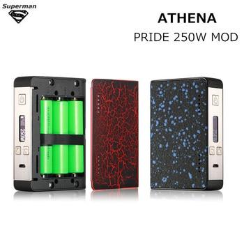2017 Newest Original ATHENA PRIDE 250W kit box mod Vaporizer electronic cigarette fit 18650 battery vape kit e cigarettes telephony