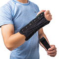 Puxe a Corda de Pulso Apoio Palma Da Mão Cinta Envoltório Brace Splint Estabilizador Guarda Saver Protector tamanho livre