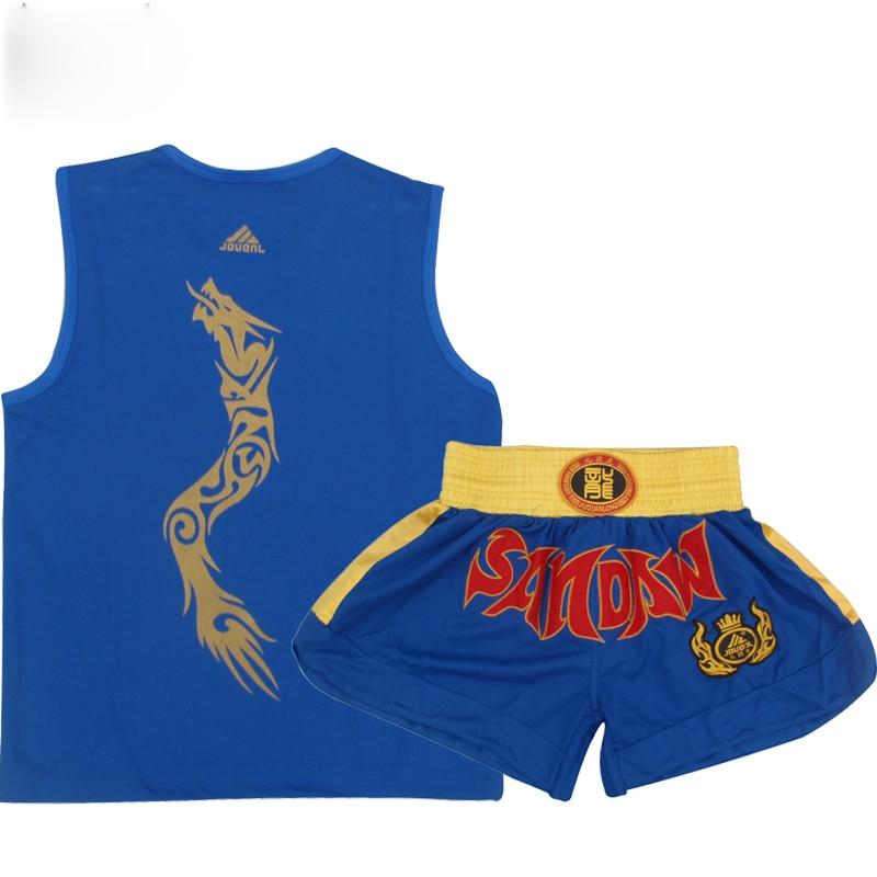 MMA Fight Mens Suit Muay Thai Shorts Fight Sanda - სპორტული ტანსაცმელი და აქსესუარები - ფოტო 5