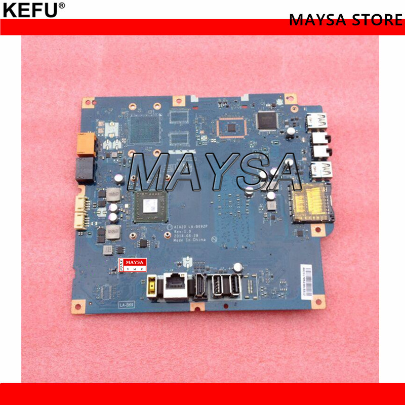 Fit For Lenovo C2005 AIO Motherboard A6-6310 AIA20 LA-B692P Mainboard 100%tested fully work цена