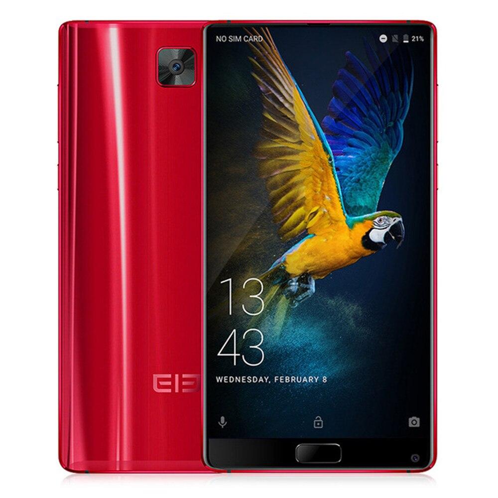 Elephone S8 6.0 pouce 4g Smartphone 4000 mah Helio X25 2560x1440 Deca Core Android 7.1 Téléphone Portable 4 gb 64 gb D'empreintes Digitales Mobile Téléphone