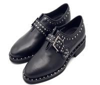 Inspiration new vintage suitcases Box rivet trimmed belt buckle handmade men Mengke shoes dress leather lace up shoes