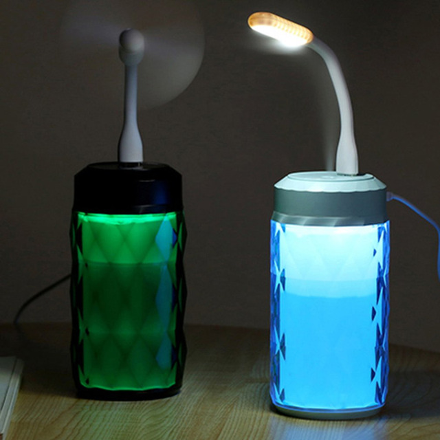 Electronic LED Multi function humidifier 4