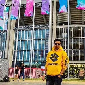 Image 3 - Justin Bieber Zweck Tour Neue Marke Sweatshirt Hoodies Mode Männer/frauen Hoodies und Sweatshirts Kleidung Gelb Hip Hop outwear
