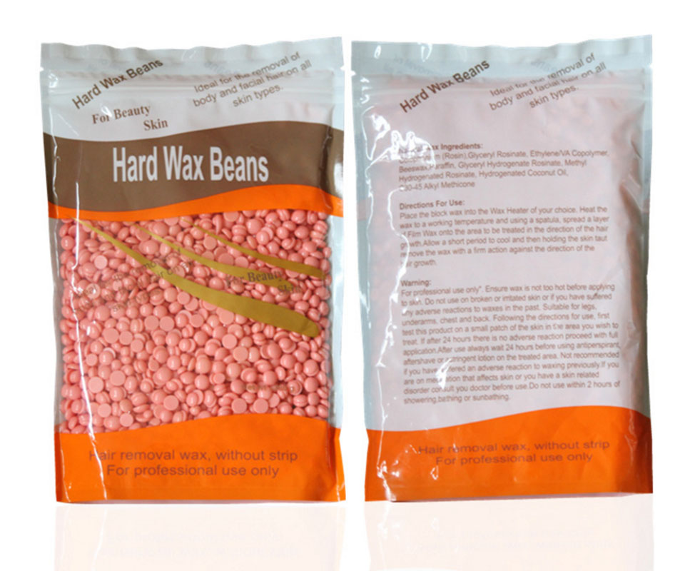 100g No Strip Depilatory Hot Film Hard Wax Pellet Waxing Bikini Hair Removal Bean More Colors For Women Men(China)