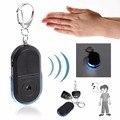 Портативный размер пожилых людей анти-потерянный ключ поиска беспроводной полезный свисток Звук светодиодный свет локатор Finder брелок
